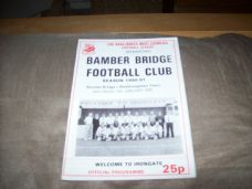 Bamber Bridge v Westhoughton Town, 1990/91